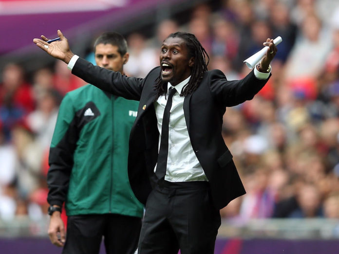 Aliou Cissé @Julian Finney/Getty Images